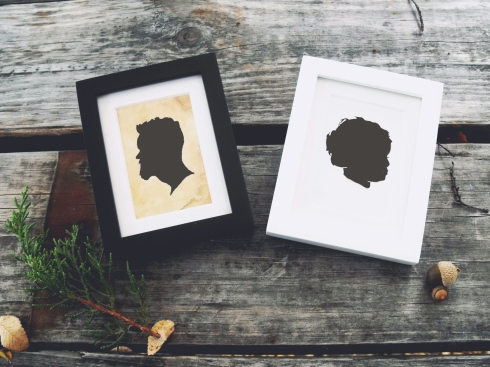 Mini Silhouette Portraits - see Price page for details
